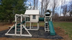 Pennsylvania company, swingset, swing set, powdercoated, durable playsets, durable swingset, powder coated, powder coating