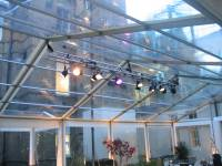 Marquee Lighting Hire | Key Structures Ltd
