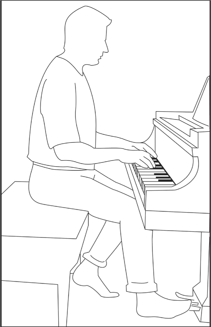 How to Maintain the Right Piano Posture When Sitting At