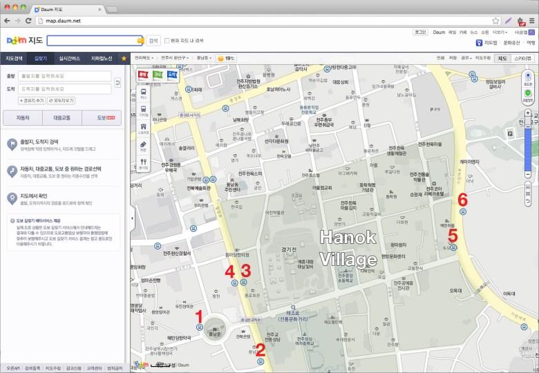 daum-maps-hanok-village