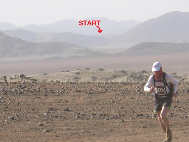 Tom McGuire, Winner of the 2008 Nambian Ultra Marathon