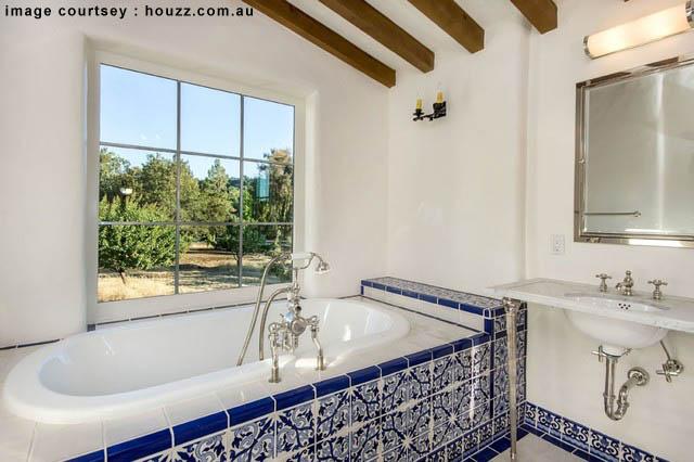 Brighten Up Your Bathroom Spanish Style Keywork