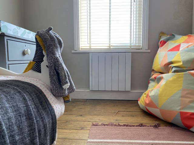 Ecostrad Electric Radiator in Bedroom