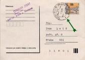 razítko vlakové pošty