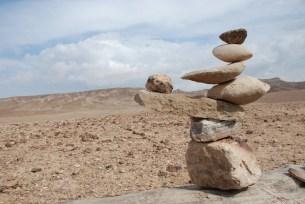 Desert Stone Balancing