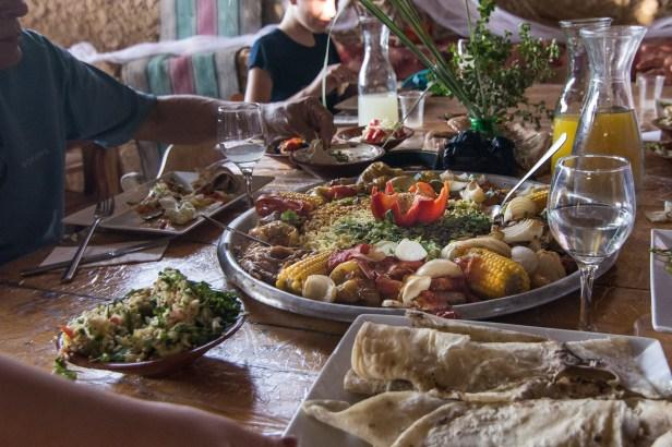 Family Hafla feast