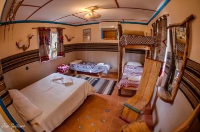 חדר מטיילים בכפר הנוקדים
