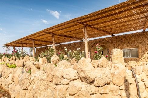 חדרי האבן סופיריור- אזור החדרים