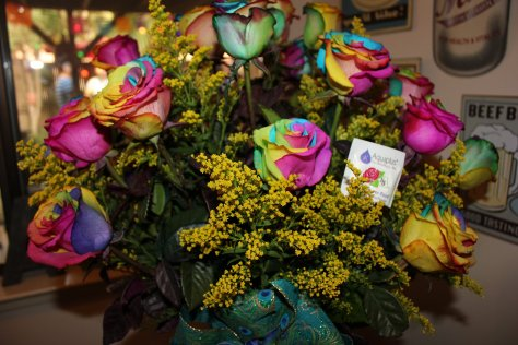 Flowers at KFCF Meet N Greet