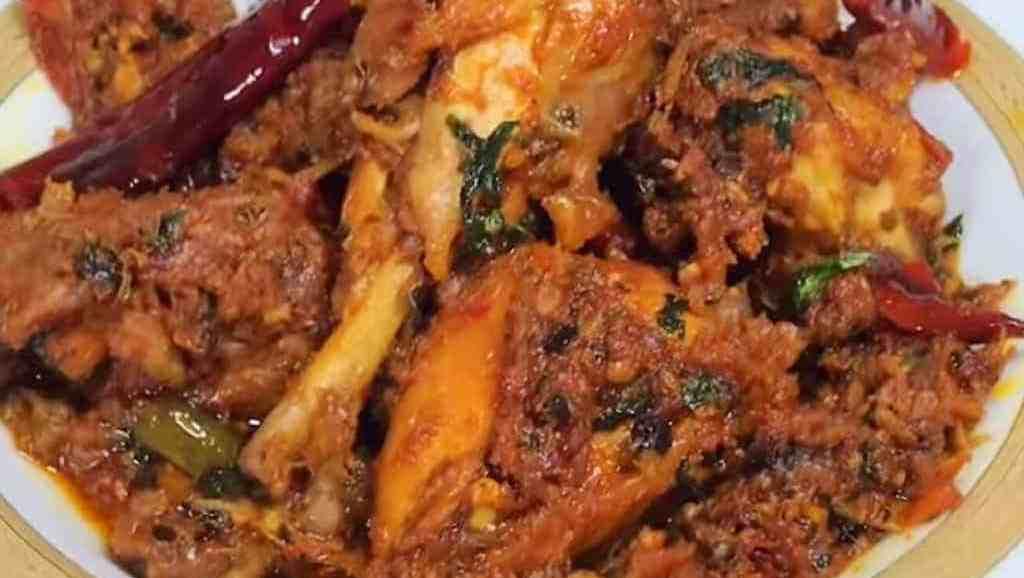 healthy chicken bhuna recipe