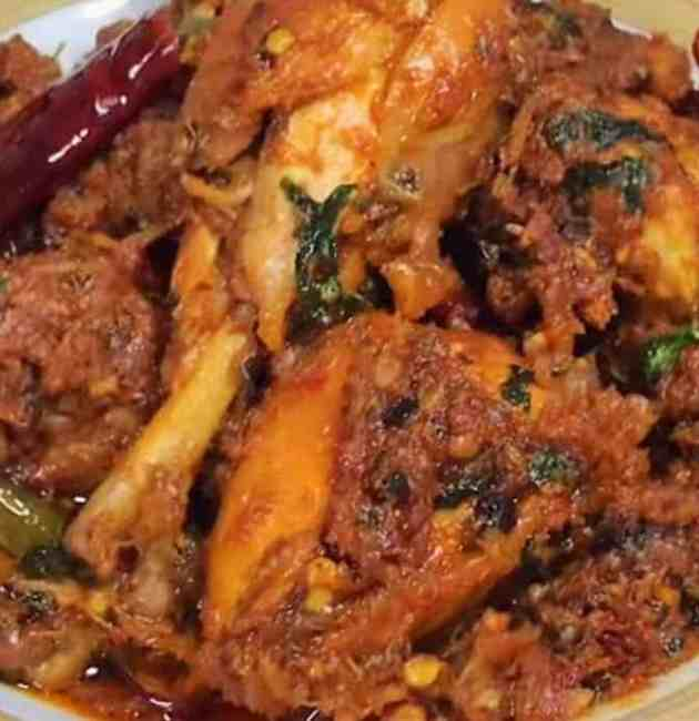 healthy chicken bhuna recipe