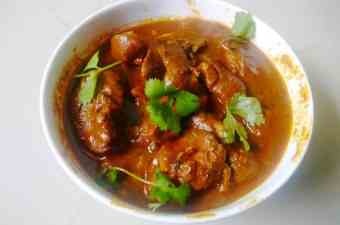 Indian Style chicken liver recipe