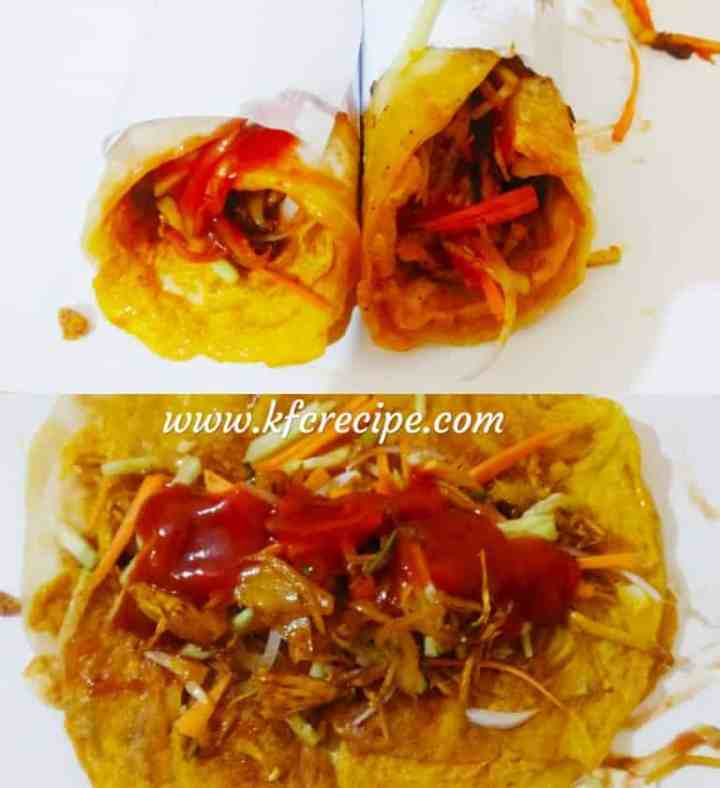 egg roll recipe with chicken