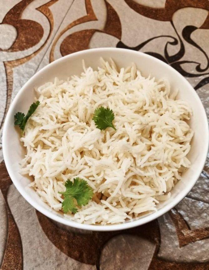 Basmati rice in instant pot