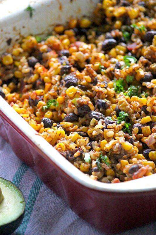 Black bean casserole recipe