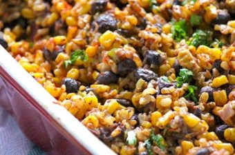 Black bean casserole recipe