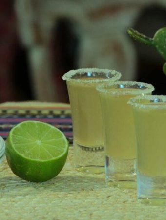 Lemon drop cocktail
