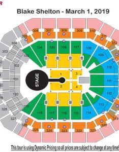 Blake shelton seating chart also charts kfc yum center rh kfcyumcenter