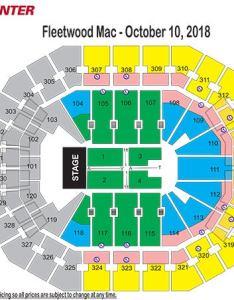 Fleetwood mac seating chart also charts kfc yum center rh kfcyumcenter