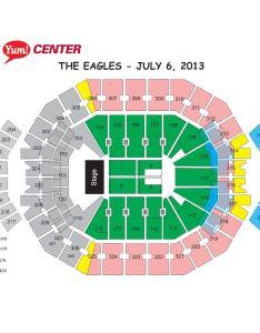 Seating chart also the eagles kfc yum center rh kfcyumcenter