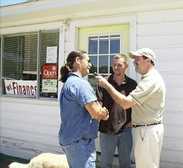 Generator George drops by with Steve and Bob