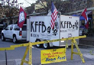 KFFB on Location at Beanfest in Mountain View