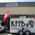 KFFB 106.1 on Location at Bread of Life Book Store Grand Opening in Batesville July 1