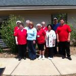 The Staff of Southridge Village takes time out for a Picture