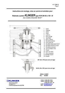 KVN DN 65 à 150