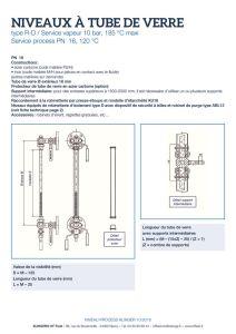 thumbnail of KLINGER INDICATEURS DE NIVEAU-fiche technique-application process niveaux 1