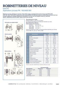 thumbnail of KLINGER INDICATEURS DE NIVEAU-fiche technique-application process robinet 21