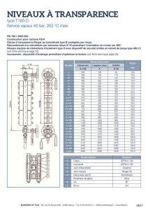 thumbnail of KLINGER INDICATEURS DE NIVEAU-fiche technique-application vapeur 6