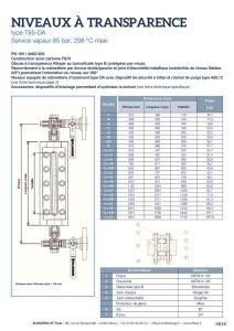 thumbnail of KLINGER INDICATEURS DE NIVEAU-fiche technique-application vapeur 8