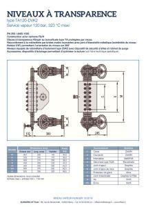 thumbnail of KLINGER INDICATEURS DE NIVEAU-fiche technique-application vapeur 9