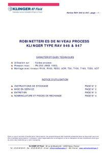 thumbnail of KLINGER INDICATEURS DE NIVEAU-robinetteries 2