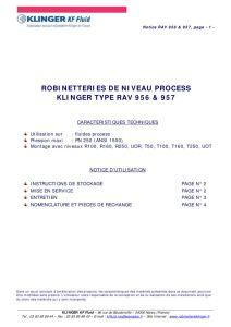 thumbnail of KLINGER INDICATEURS DE NIVEAU-robinetteries 3