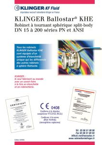 thumbnail of Robinet à tournant sphérique Ballostar-catalogue