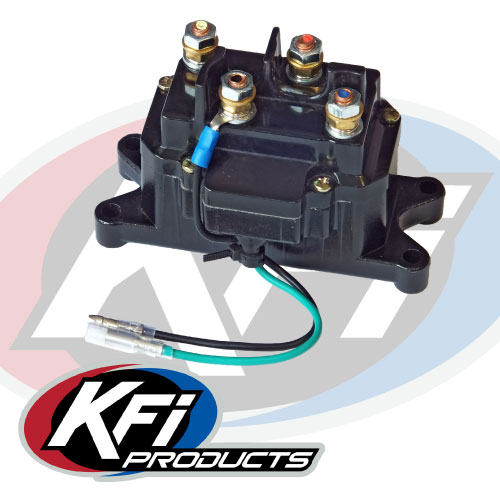 atv winch contactor wiring diagram motion sensor replacement kfi mounts and accessories