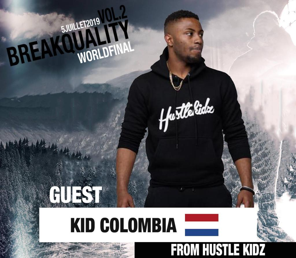 Bboy Kid colombia promotion breakdance by KFM Life