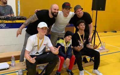 Les élèves de la KFM Dance school finaliste au battle Enfant Perdu à Lausanne