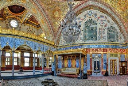 Beautiful-Architecture-Inside-The-Topkapi-Palace-Istanbul