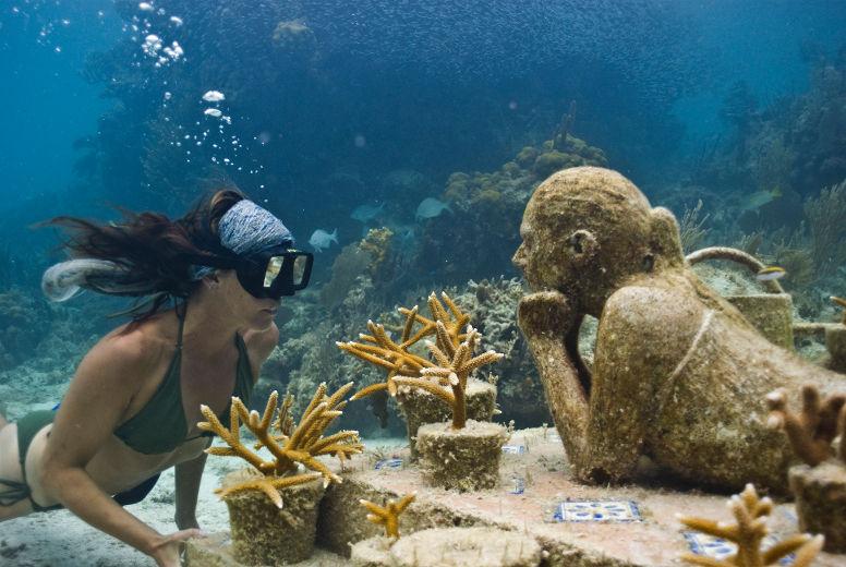 Cancun Underwater Museum, Cancun