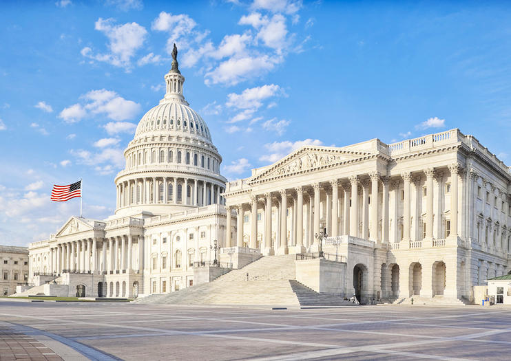 Image Of United States Capitol, Washington