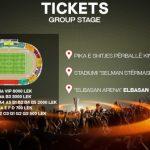 Skënderbeu – Partizan Beograd, biletat në shitje