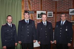 v.l.: Thorsten Persuhn, Mathias Werhahn-Wuttke, Timo Graue und André Sonntag