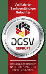 Ihr DGSV geprüfter und verifizierter Kfz Gutachter in Jena