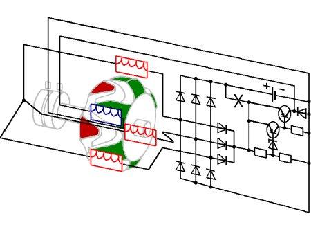 Ford 2g Alternator Wiring Diagram Only Wiring And Diagram Late Motorola Style Alternator Wiring