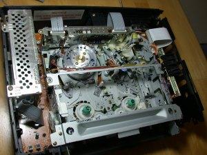 Crappy Funai VCR guts