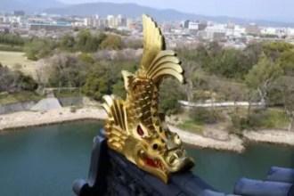 愛知県の金のシャチ鉾