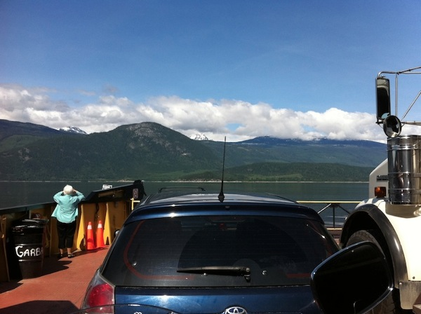 Roadtrip ferry crossing